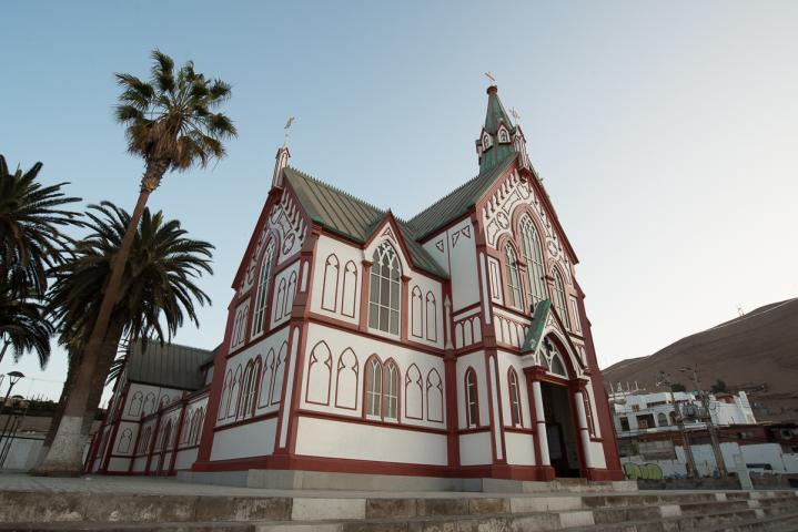 Imagen del monumento La Iglesia Catedral San Marcos de Arica