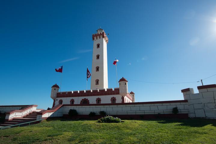 Imagen del monumento Faro monumental de La Serena