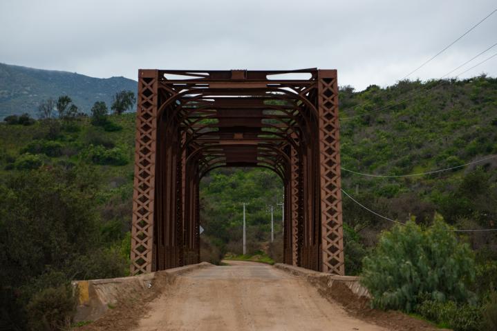 Imagen del monumento Puente Metálico Tilama