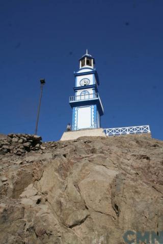 Imagen del monumento La Torre del Reloj de Pisagua