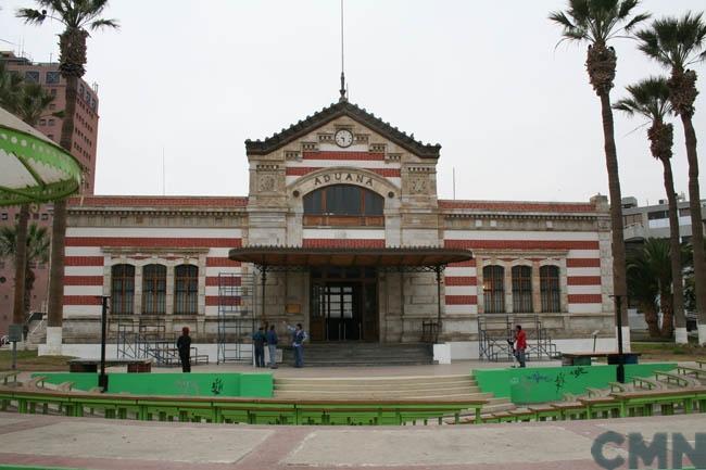 Imagen del monumento Edificio de la antigua Aduana de Arica