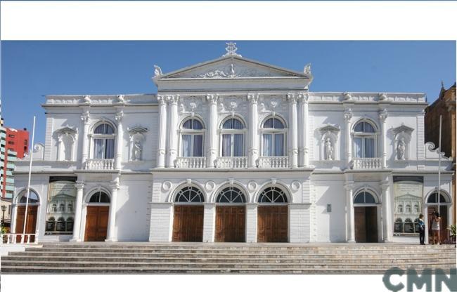 Imagen del monumento Teatro Municipal de Iquique