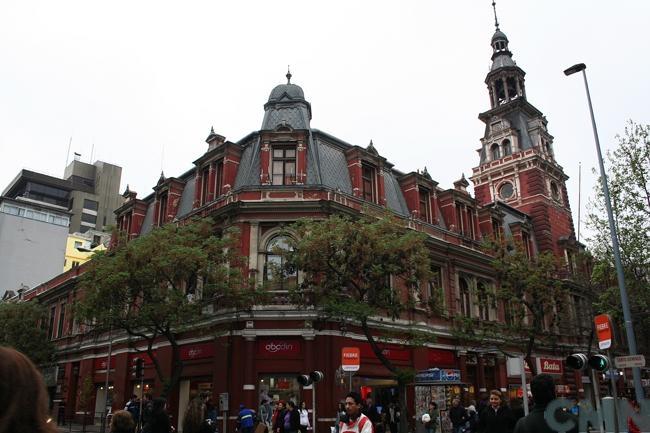 Imagen del monumento Edificio del Cuerpo de Bomberos de Santiago