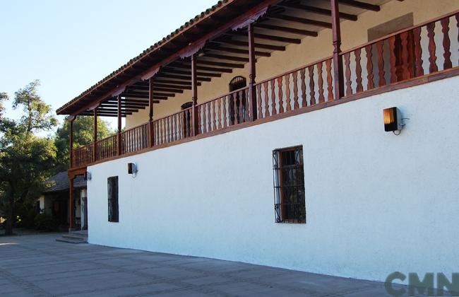 Imagen del monumento Casa de Lo Matta y los terrenos adyacentes