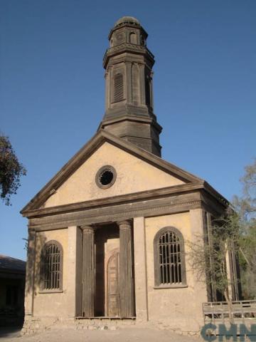 Imagen del monumento Casa e Iglesia de la ex Hacienda de Nantoco