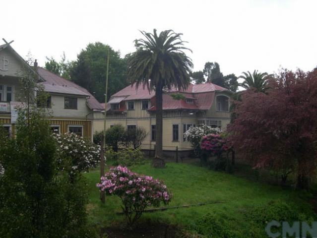 """Imagen del monumento Las casas Prochelle """"I"""" y """"II"""" y el Parque Prochelle"""