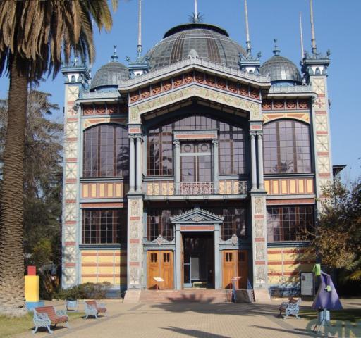 Imagen del monumento Inmueble denominado ex Pabellón de la Exposición París de Santiago