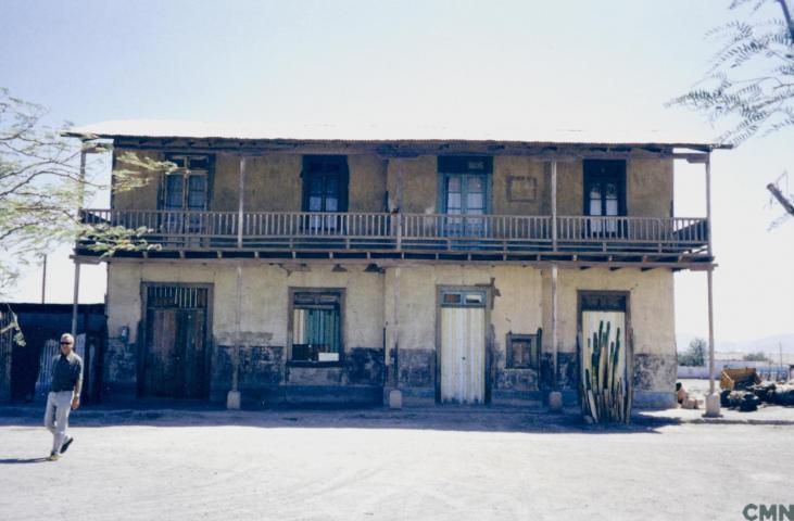 Imagen del monumento El edificio del ferrocarril de Huara