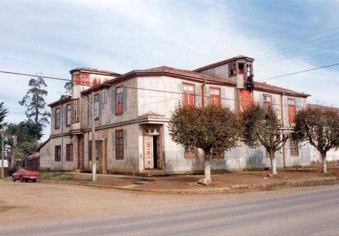 Imagen del monumento Inmueble Casona Eyheramendy Casa Francesa de los Álamos