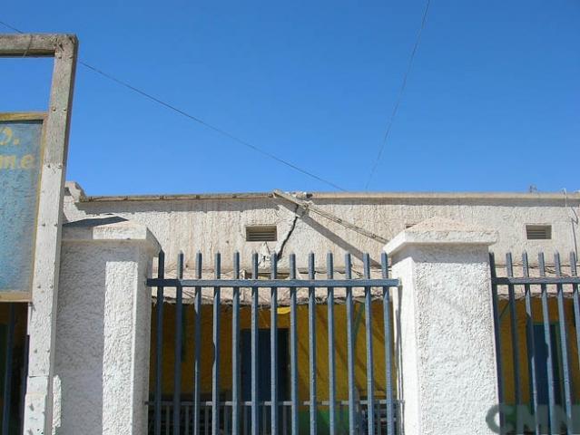 Imagen del monumento Edificios que conforman el barrio cívico de la oficina salitrera María Elena