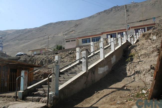 Imagen del monumento Escuela de Pisagua