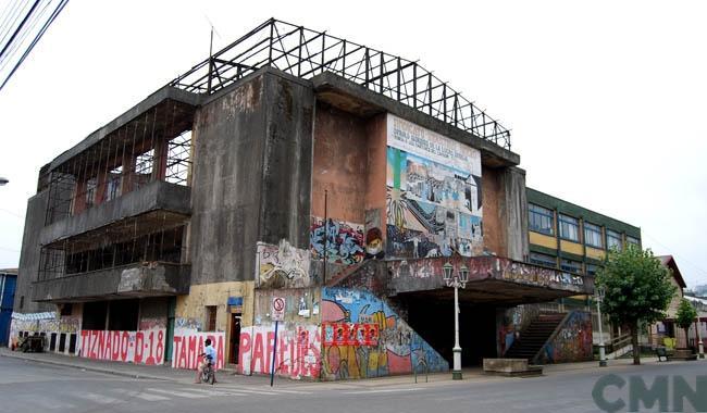 Imagen del monumento Teatro del Sindicato N° 6  (Teatro de los Mineros de Lota)