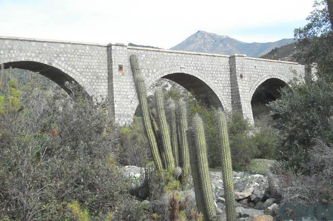 Imagen del monumento Puente de Piedra Quelón o La Recta