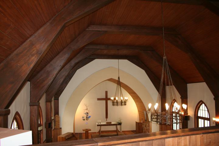Imagen del monumento Templo Luterano de Frutillar