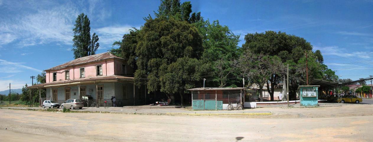 Imagen del monumento Estación de Ferrocarriles de Peumo