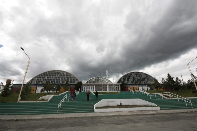 Imagen del monumento Equipamiento de Cerro Sombrero: Centro Cívico
