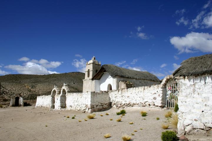 Imagen del monumento Iglesia Virgen del Rosario de Cosapilla
