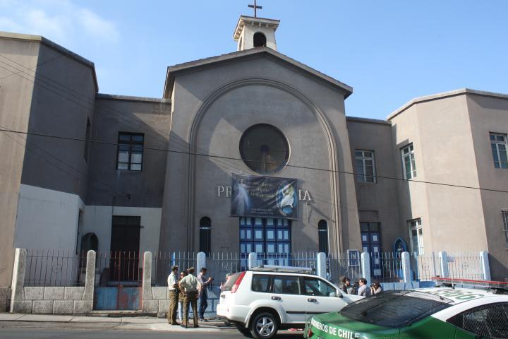 Imagen del monumento Sitio de Memoria ex Centro de Detención Providencia