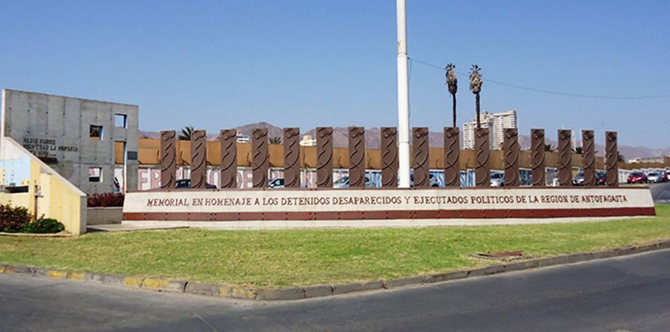 Imagen del monumento Memorial A Los Detenidos Desaparecidos Antofagasta