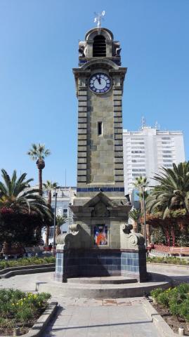 Imagen del monumento Reloj Plaza Colón