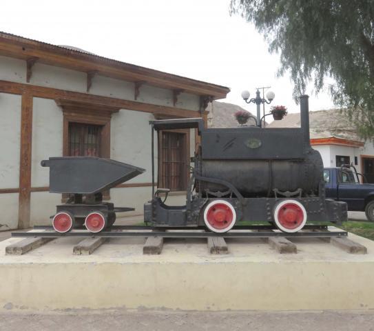 Imagen del monumento Locomotora Interior Mina