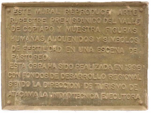 Imagen del monumento Arte Rupestre Prehispanico Del Valle De Copiapó