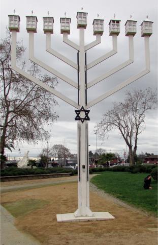 Imagen del monumento Menorá