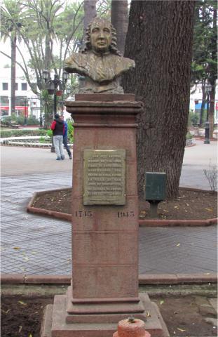 Imagen del monumento Jose Antonio Manso De VeLasco