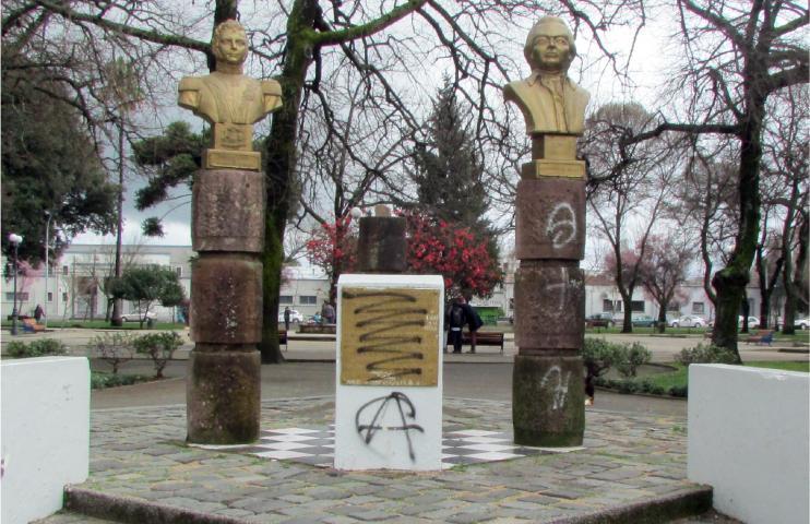 Imagen del monumento Bernardo O'Higgins Y Francisco De Miranda
