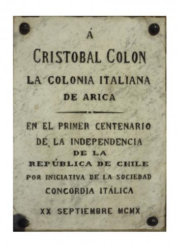 Imagen del monumento Cristóbal Colón