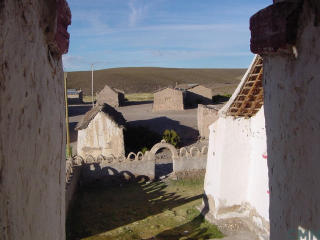Imagen del monumento Pueblo de Isluga
