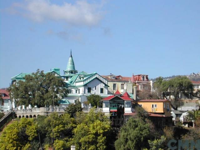 Imagen del monumento Área histórica de Valparaíso