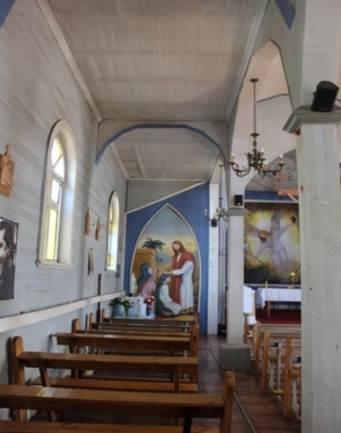 Imagen del monumento Iglesia Nuestra Señora de Lourdes de Reumén