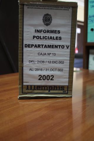 Imagen del monumento Archivo de la Brigada Investigadora de Delitos contra Los Derechos Humanos de la Policía de Investigaciones de Chile