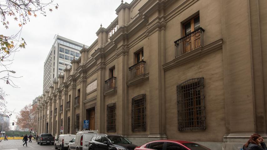 Imagen del monumento Ex Palacio viejo de los Tribunales, antiguo Palacio de la Aduana de Santiago