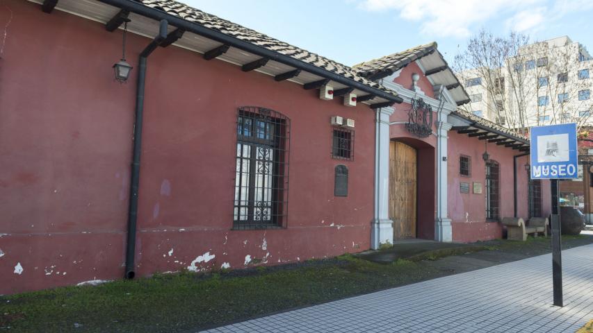 Imagen del monumento Propiedad del Museo O'Higginiano y de Bellas Artes de Talca y la propiedad colindante