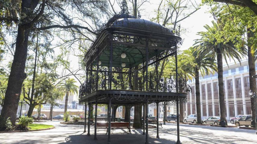 Imagen del monumento Kiosco Cívico de la Plaza de Armas de Curicó