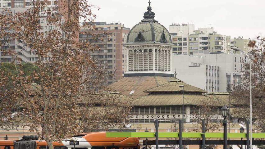 Imagen del monumento Edificio del Mercado Central de Santiago