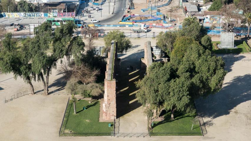 Imagen del monumento Muros de la antigua Iglesia de Maipú