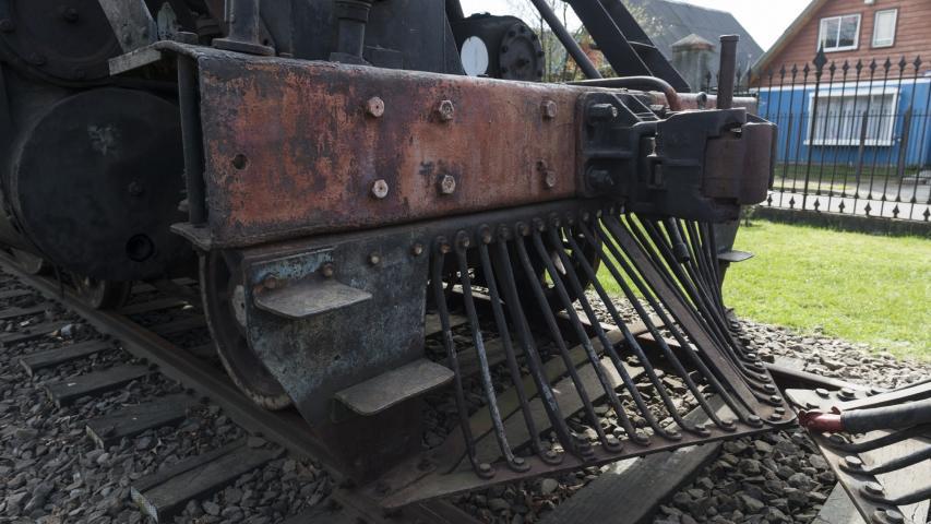Imagen del monumento Material rodante de la Casa de máquinas de Temuco