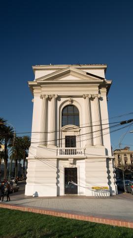 Imagen del monumento Biblioteca Santiago Severín y su entorno