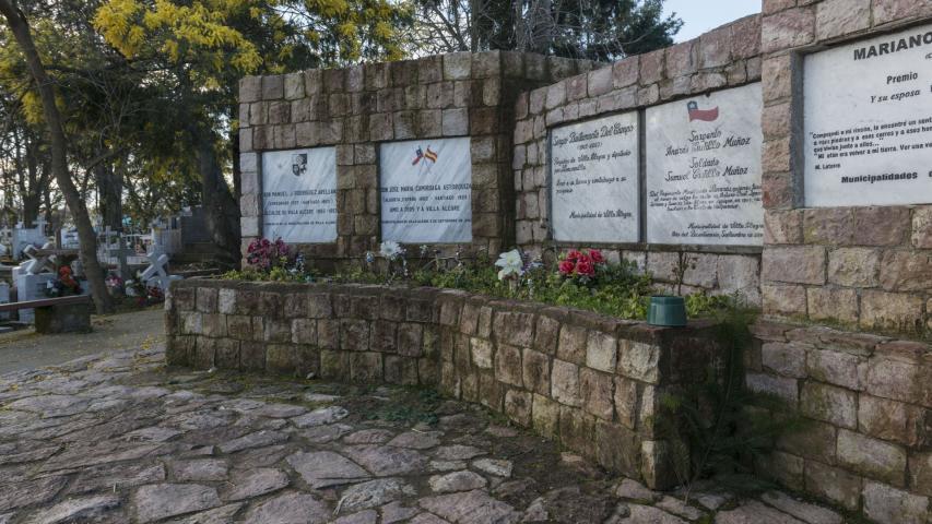 Imagen del monumento Sector de los Hombres Ilustres del Cementerio de Villa Alegre