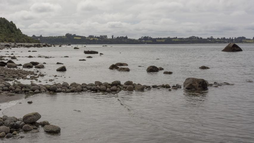 Imagen del monumento Complejo patrimonial conformado por 18 corrales de pesca de piedra