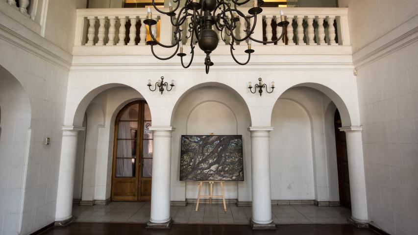 Imagen del monumento Ex Casa Vásquez (Edificio Consistorial de Macul)