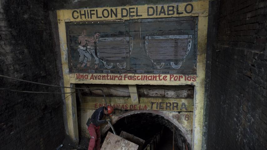Imagen del monumento Mina Chiflón del Diablo