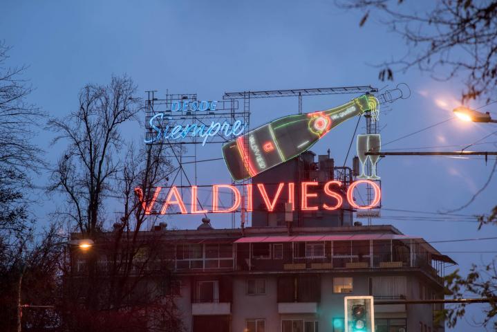 """Imagen del monumento Letrero publicitario de """"Valdivieso"""""""
