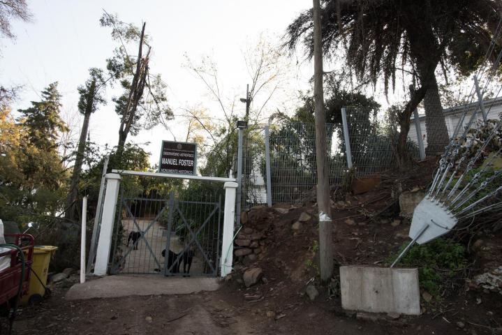 Imagen del monumento Segunda Cumbre del Parque Metropolitano de Santiago