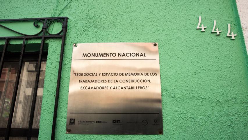 Imagen del monumento Sede de los trabajadores de la construcción, excavadores y alcantarilleros