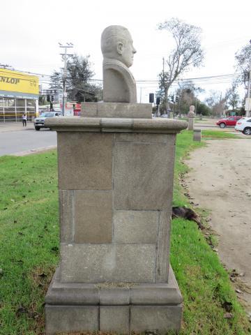 Imagen del monumento David Rojas González