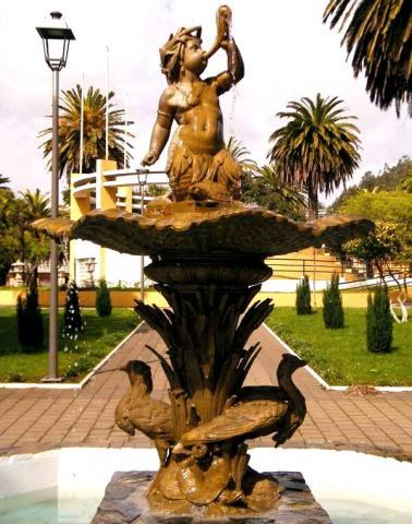Imagen del monumento Pileta del Niño Pez